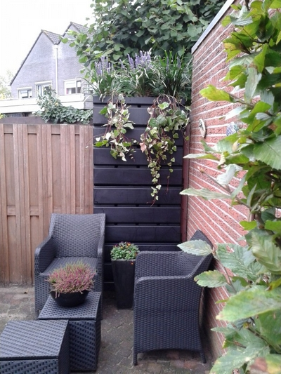 Kennisbank Irrigatie Regen in de schutting Rainwinner tuin